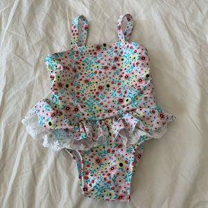 Cat & Jack 9 Months Floral Bikini